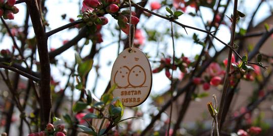 Preslatki drveni uskrsni ukrasi za vaše cvjetne dekoracije